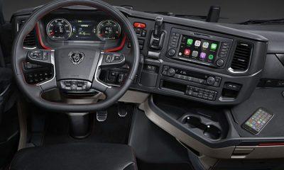 Scania porta Apple CarPlay a bordo della nuova generazione di veicoli 15 Scania porta Apple CarPlay a bordo della nuova generazione di veicoli
