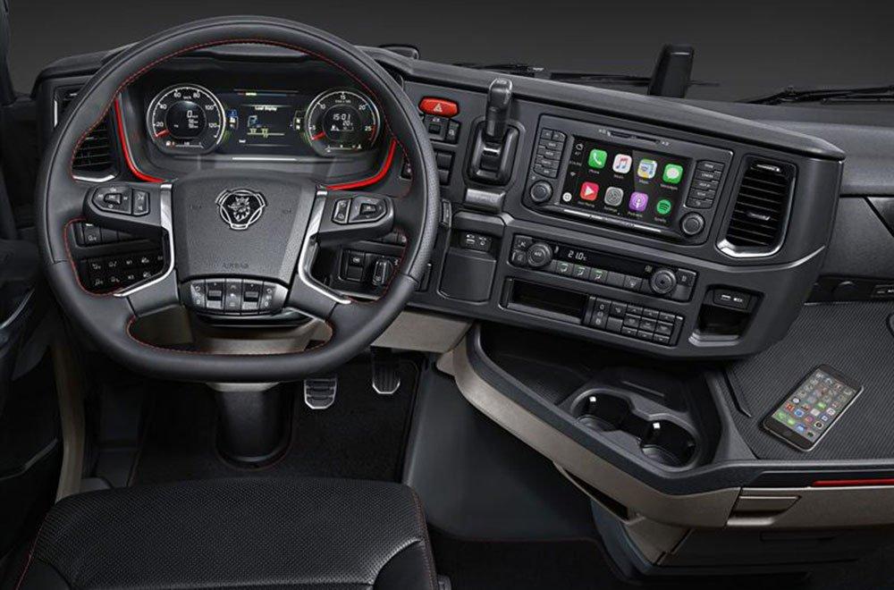 Scania porta Apple CarPlay a bordo della nuova generazione di veicoli 14 Scania porta Apple CarPlay a bordo della nuova generazione di veicoli