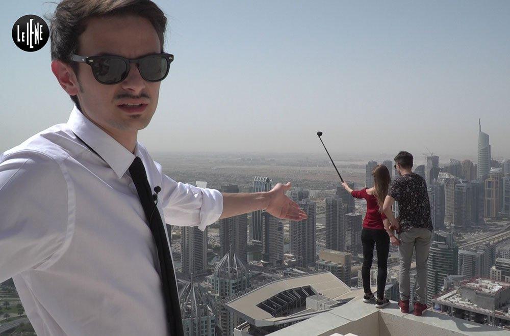 Fabio Rovazzi a Le Iene per parlare di selfie mortali