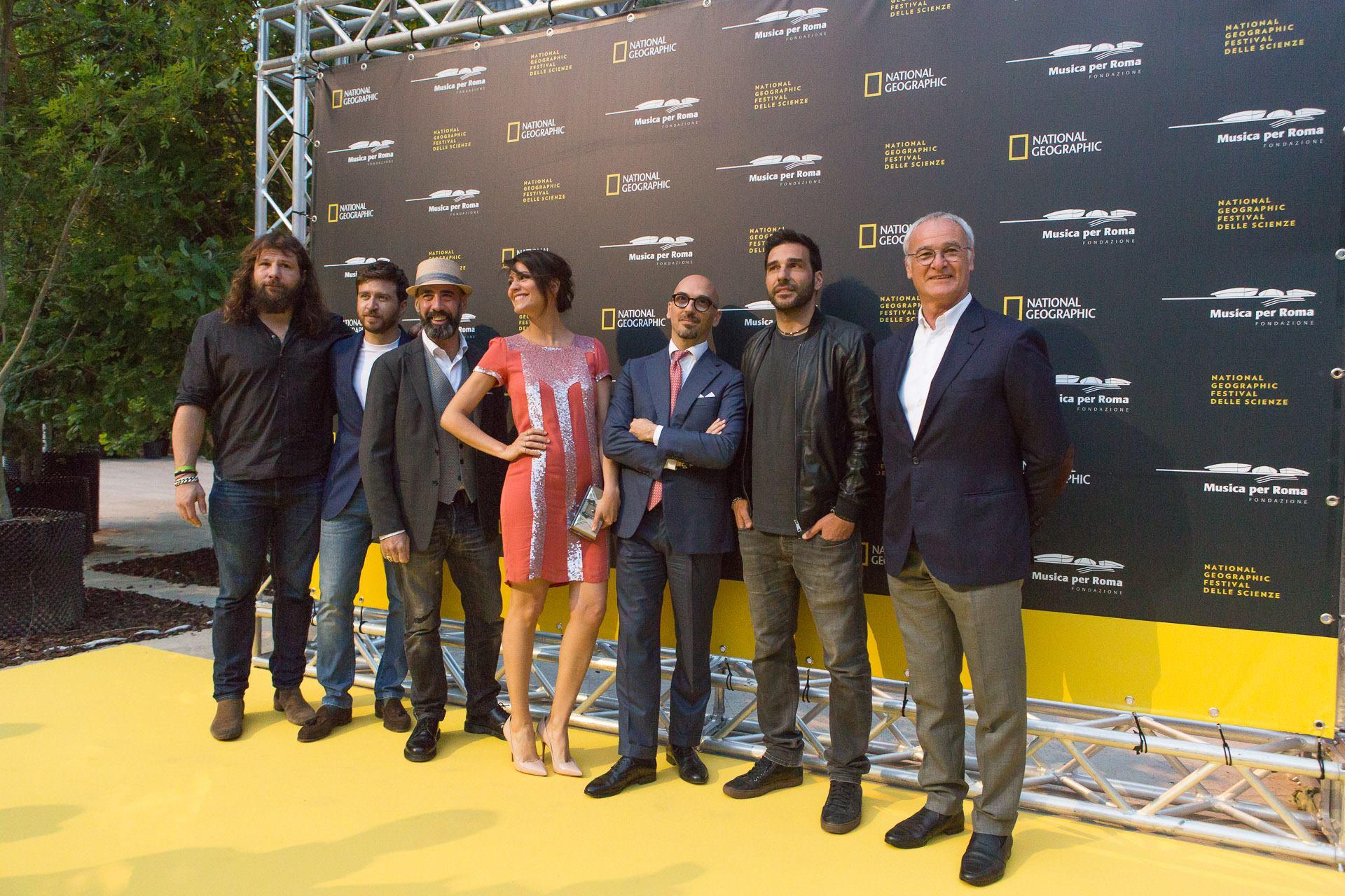 Folla di vip per la prima italiana di Genius: Einstein 7 Folla di vip per la prima italiana di Genius: Einstein