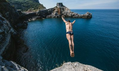 Red Bull Cliff Diving Road to Polignano. Il tuffo di De Rose da Porto Venere 56 Red Bull Cliff Diving Road to Polignano. Il tuffo di De Rose da Porto Venere