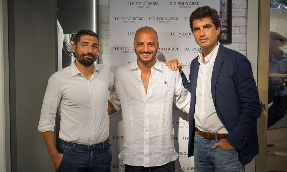 Pitti Firenze: Nicolas Vaporidis special guest U.S. Polo Assn. 6 Pitti Firenze: Nicolas Vaporidis special guest U.S. Polo Assn.