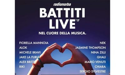 Battiti Live 2017: il cast della prima tappa di Bari (16 luglio) 18 Battiti Live 2017: il cast della prima tappa di Bari (16 luglio)