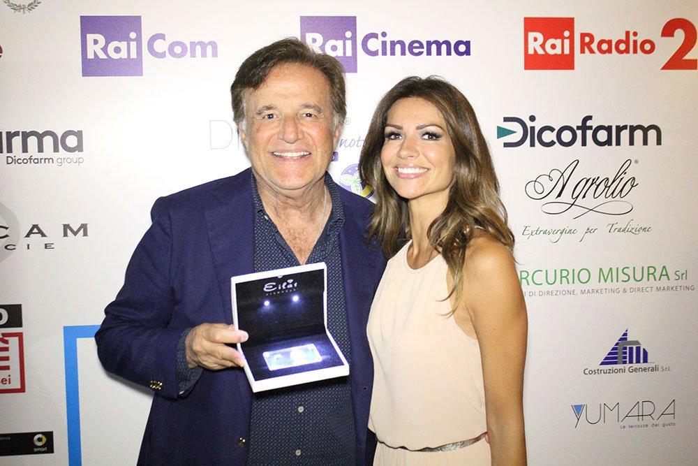 Christian De Sica ed Alessia Ventura