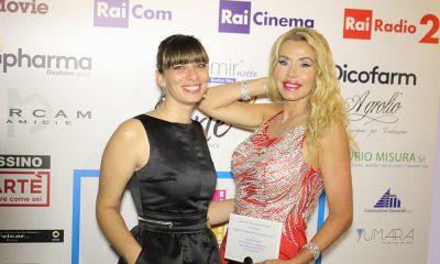 Il direttore di Vero, Laura Bozzi, e Valeria Marini