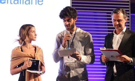 Alice Bellagamba premiata da Massimo Galanto di Tvblog
