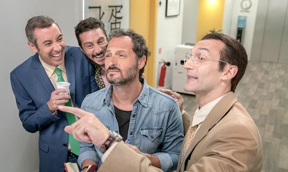 CAMERA CAFE Luca e Paolo Fabio Troiano Silvano - Camera Café: la puntata del 20 settembre. Guest star Fabio Troiano