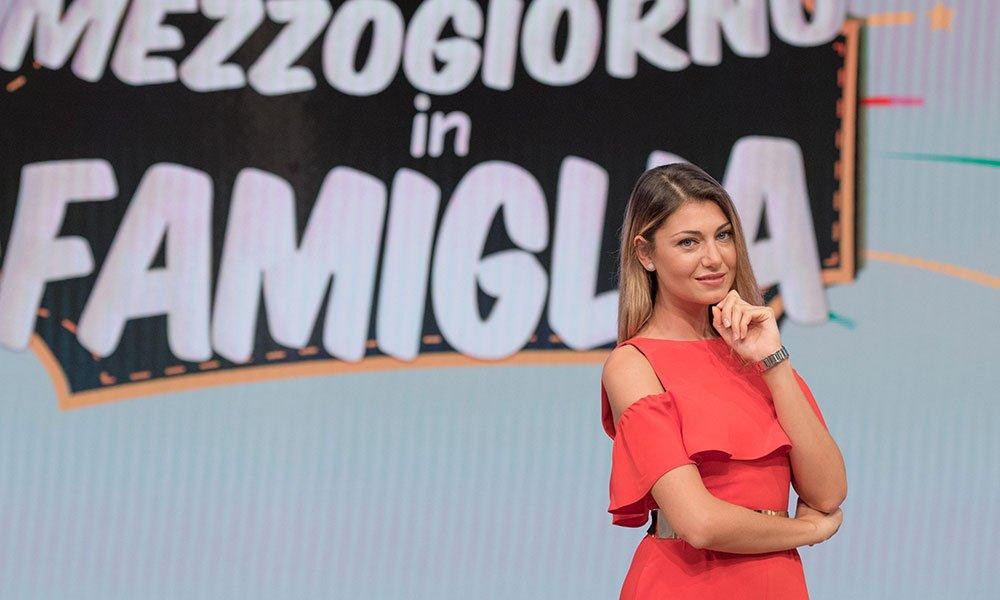 Claudia Andreatti - Foto Ansa per Rai