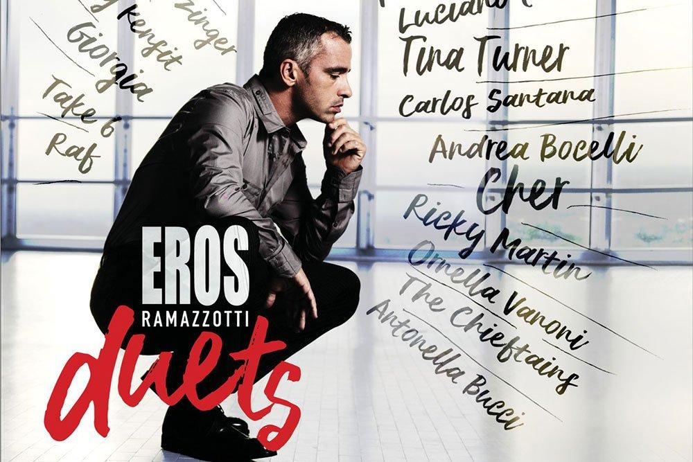"""Eros Ramazzotti: il 17 novembre esce """"Eros Duets"""" 34 Eros Ramazzotti: il 17 novembre esce """"Eros Duets"""""""