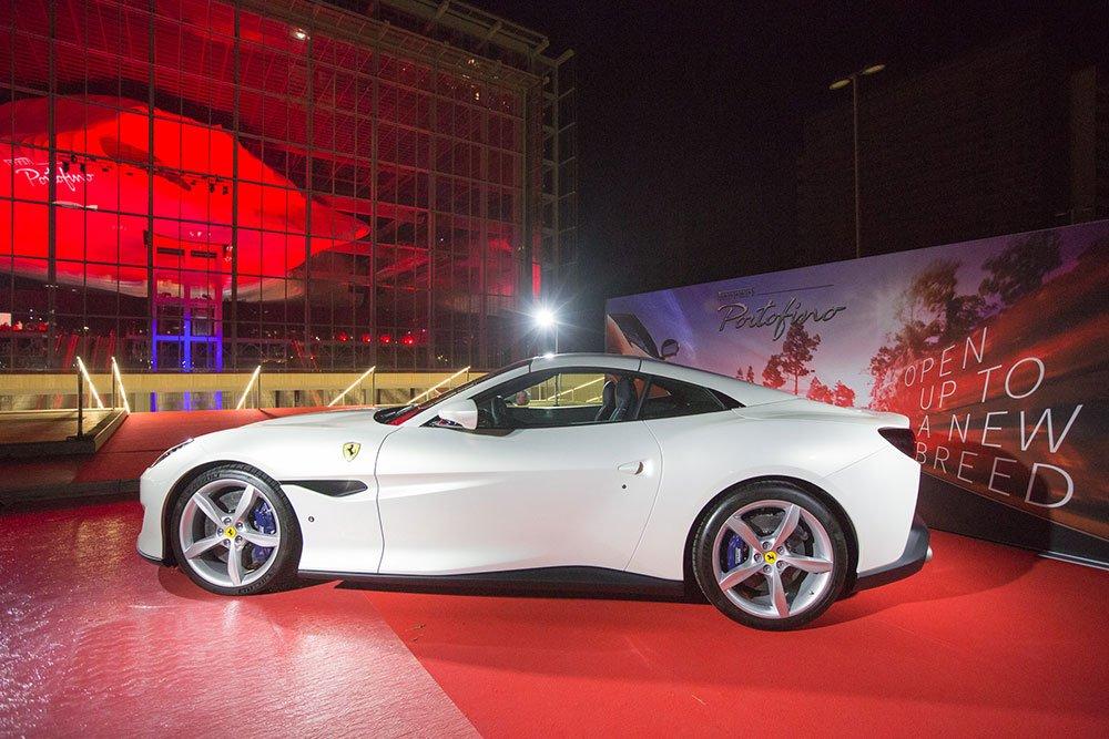 Première a Roma per la Ferrari Portofino. Le foto della serata 34 Première a Roma per la Ferrari Portofino. Le foto della serata