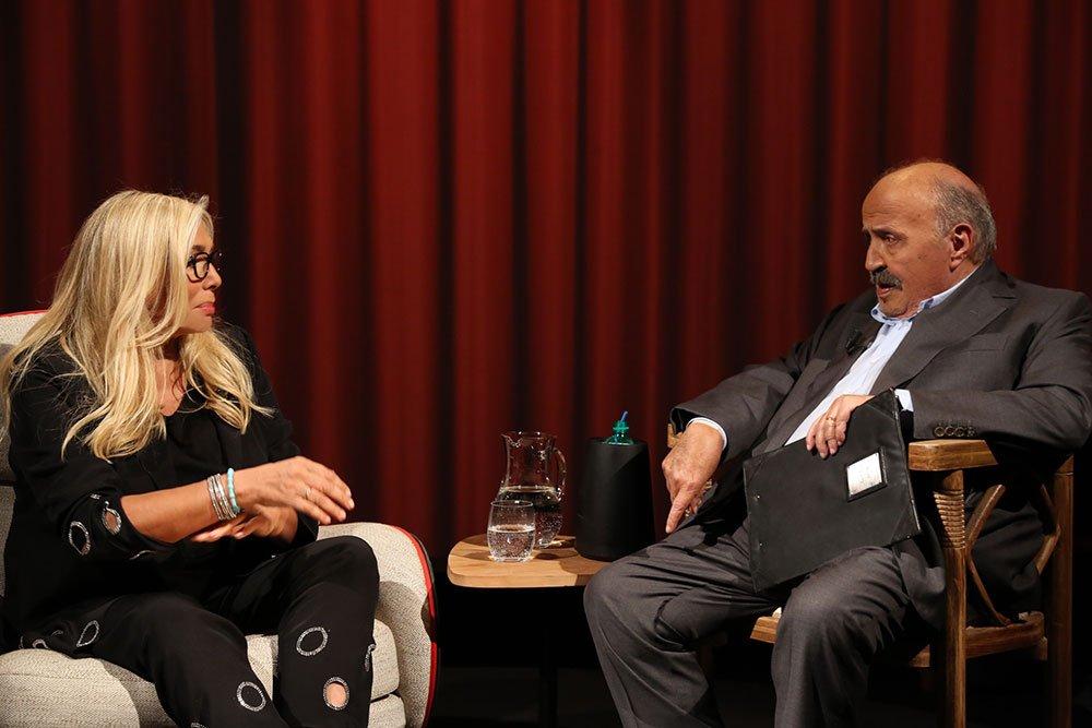 MAURIZIO COSTANZO E MARA VENIER 2551 - L'Intervista: la puntata del 12 ottobre 2017