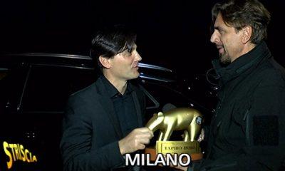 Tapiro d'oro per Montella allenatore del Milan 9 Tapiro d'oro per Montella allenatore del Milan