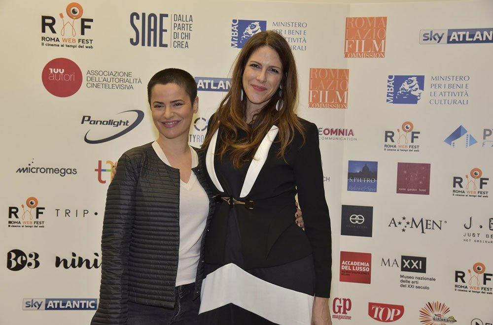 Janet De Nardis con Silvia Salemi