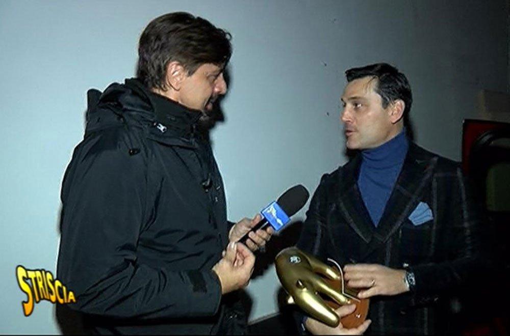 Milan, Tapiro d'Oro a Montella: