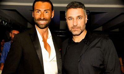 Raoul Bova con Nino Tassara, organizzatore della serata insieme allo staff Orizzonte. Credits: Gianni ph.