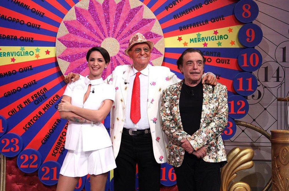 Ascolti Tv Auditel: boom Indietro Tutta, Arbore redivivo sbanca lo share