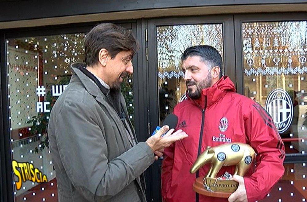 Il Milan pareggia a Benevento: tapiro per Gattuso 7 Il Milan pareggia a Benevento: tapiro per Gattuso