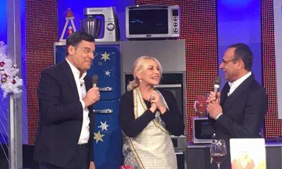 Fabrizio Frizzi torna in tv per gli auguri ad Antonella Clerici 36 Fabrizio Frizzi torna in tv per gli auguri ad Antonella Clerici