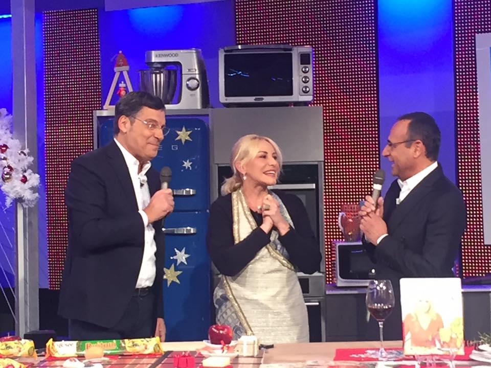 Fabrizio Frizzi torna in tv per gli auguri ad Antonella Clerici 34 Fabrizio Frizzi torna in tv per gli auguri ad Antonella Clerici