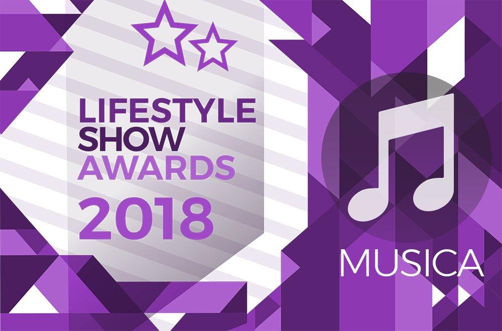 Lifestyle Show Awards 2018 - Musica : ecco i finalisti! 7 Lifestyle Show Awards 2018 - Musica : ecco i finalisti!