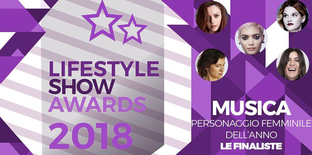 Lifestyle Show Awards 2018 - Musica : ecco i finalisti! 9 Lifestyle Show Awards 2018 - Musica : ecco i finalisti!