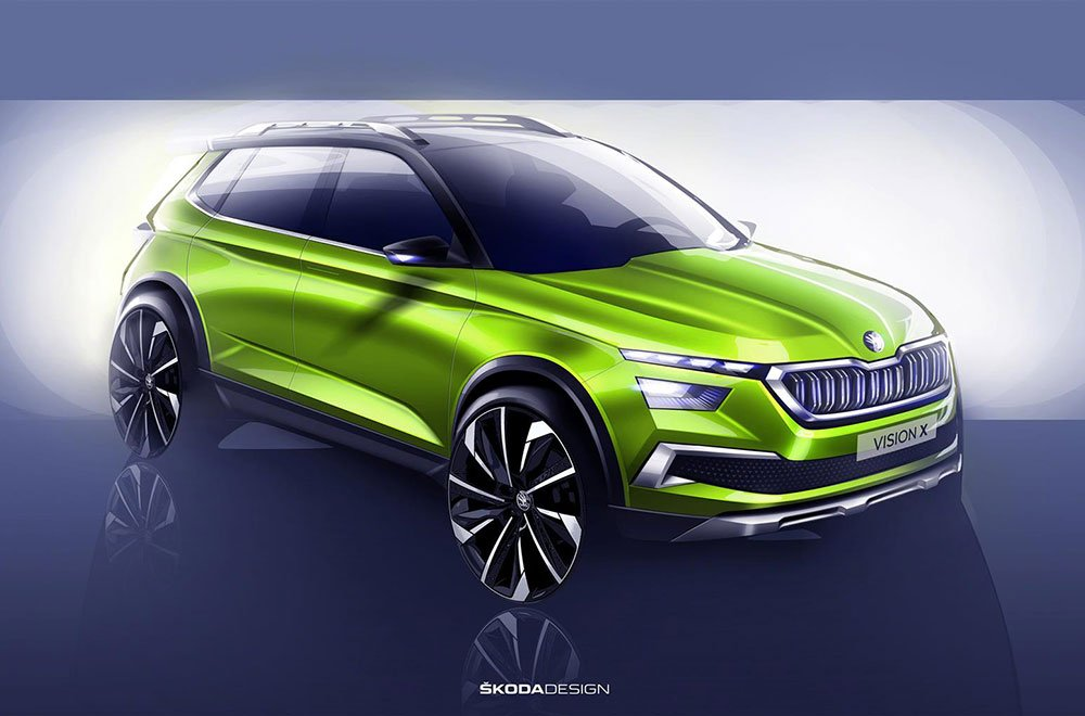 ŠKODA VISION: al Salone di Ginevra presentata la concept car 12 ŠKODA VISION: al Salone di Ginevra presentata la concept car