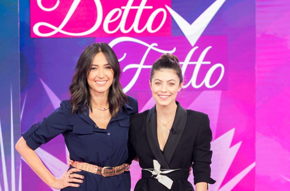 Alessandra Mastronardi ospite speciale di Detto Fatto (16 marzo 2018) 14 Alessandra Mastronardi ospite speciale di Detto Fatto (16 marzo 2018)