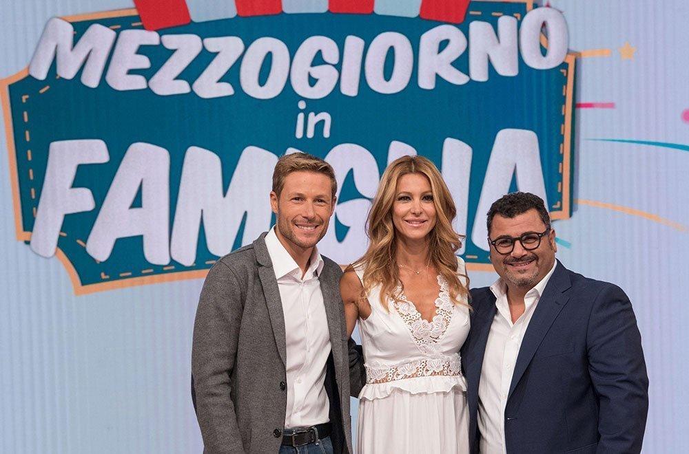 Mezzogiorno in Famiglia, i conduttori: Massimiliano Ossini, Adriana Volpe e Sergio Friscia