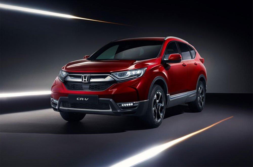 Honda presenta il nuovo CR-V al Salone di Ginevra 34 Honda presenta il nuovo CR-V al Salone di Ginevra