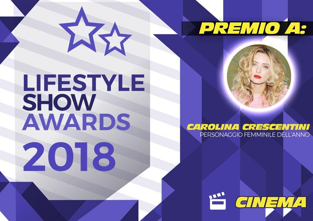 Lifestyle Show Awards 2018 – Cinema: ecco i vincitori 36 Lifestyle Show Awards 2018 – Cinema: ecco i vincitori