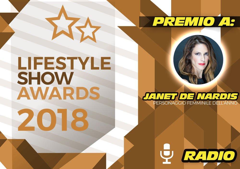 Lifestyle Show Awards 2018 – Radio: ecco i vincitori 22 Lifestyle Show Awards 2018 – Radio: ecco i vincitori