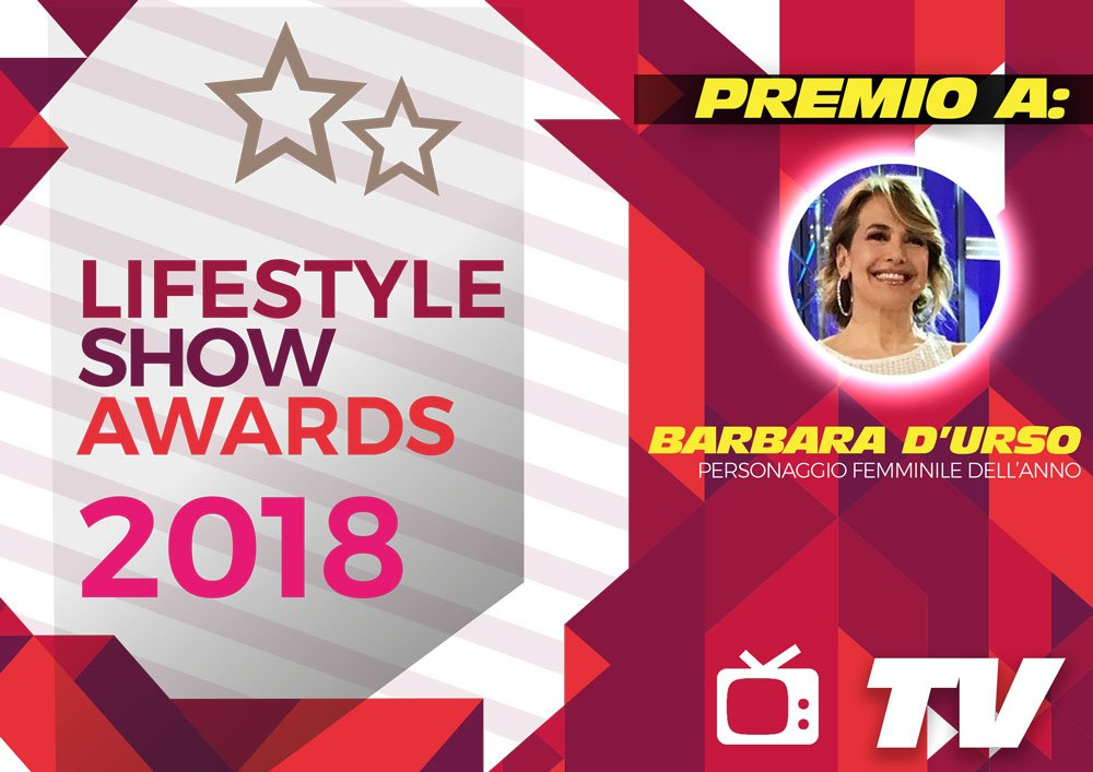 Lifestyle Show Awards 2018 - TV : ecco i vincitori 9 Lifestyle Show Awards 2018 - TV : ecco i vincitori