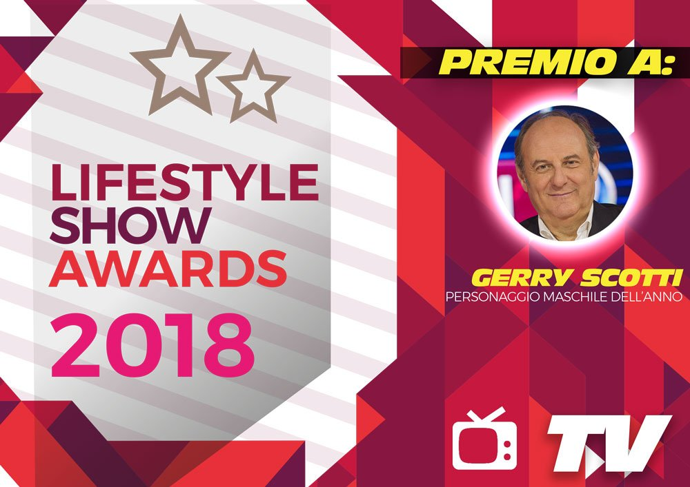 Lifestyle Show Awards 2018 - TV : ecco i vincitori 10 Lifestyle Show Awards 2018 - TV : ecco i vincitori