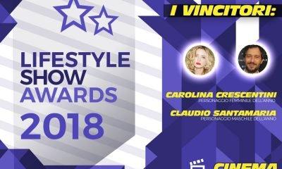 Lifestyle Show Awards 2018 – Cinema: ecco i vincitori 9 Lifestyle Show Awards 2018 – Cinema: ecco i vincitori