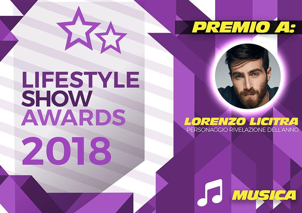 Lifestyle Show Awards 2018 - Musica: ecco i vincitori 8 Lifestyle Show Awards 2018 - Musica: ecco i vincitori
