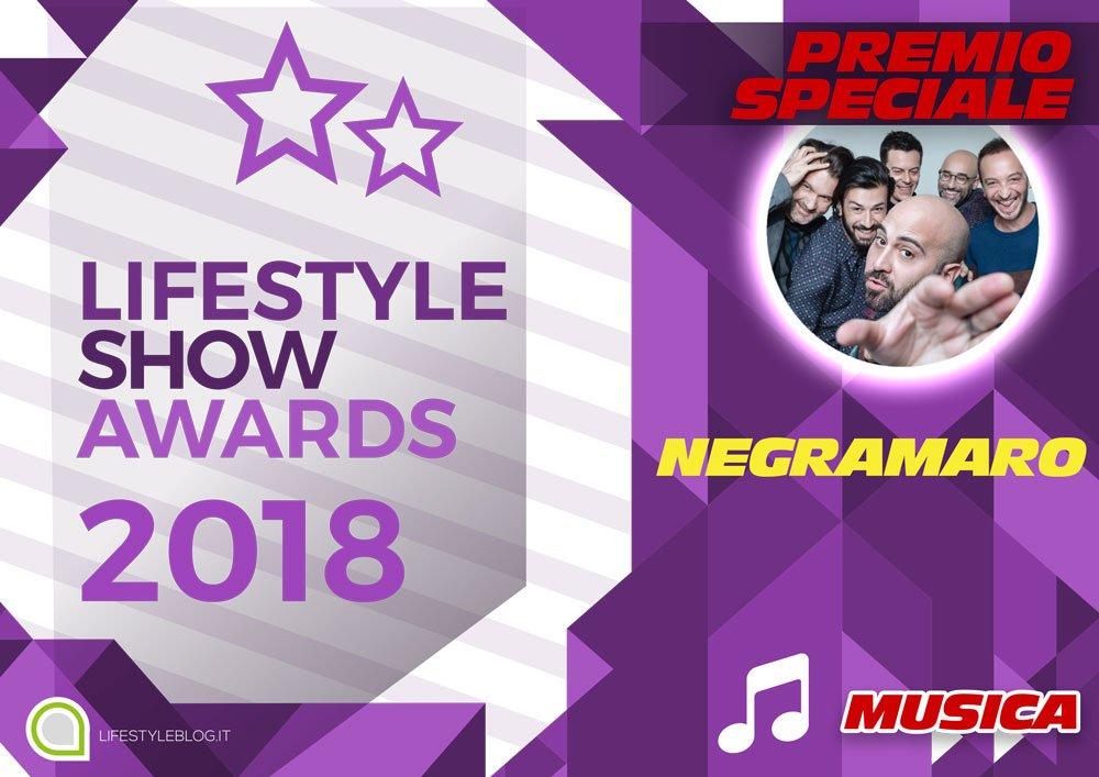 I Negramaro si aggiudicano il Premio Speciale Lifestyle Show Award 2018 7 I Negramaro si aggiudicano il Premio Speciale Lifestyle Show Award 2018