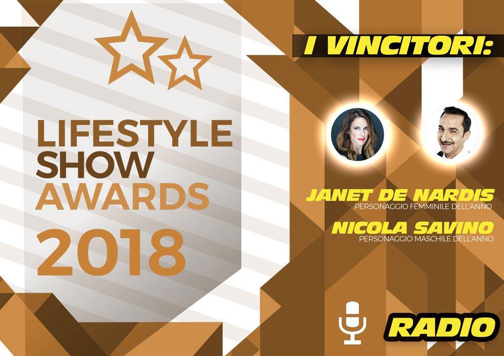 Lifestyle Show Awards 2018 – Radio: ecco i vincitori 20 Lifestyle Show Awards 2018 – Radio: ecco i vincitori