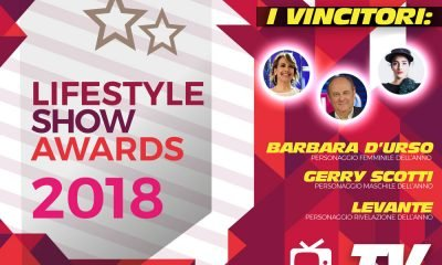 Lifestyle Show Awards 2018 - TV : ecco i vincitori 17 Lifestyle Show Awards 2018 - TV : ecco i vincitori