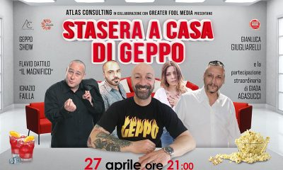 Stasera a casa di Geppo al Teatro Brancaccio di Roma 22 Stasera a casa di Geppo al Teatro Brancaccio di Roma