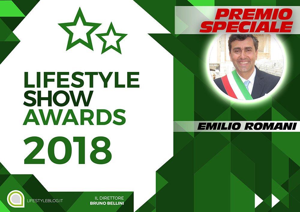 Lifestyle Show Awards 2018, Premio Speciale per Emilio Romani 16 Lifestyle Show Awards 2018, Premio Speciale per Emilio Romani