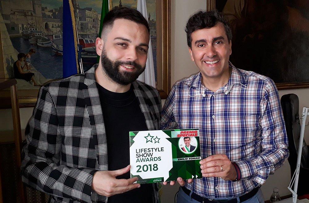 Lifestyle Show Awards 2018, consegnato il Premio Speciale a Emilio Romani 16 Lifestyle Show Awards 2018, consegnato il Premio Speciale a Emilio Romani