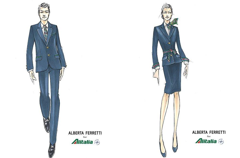 Le nuove divise Alitalia