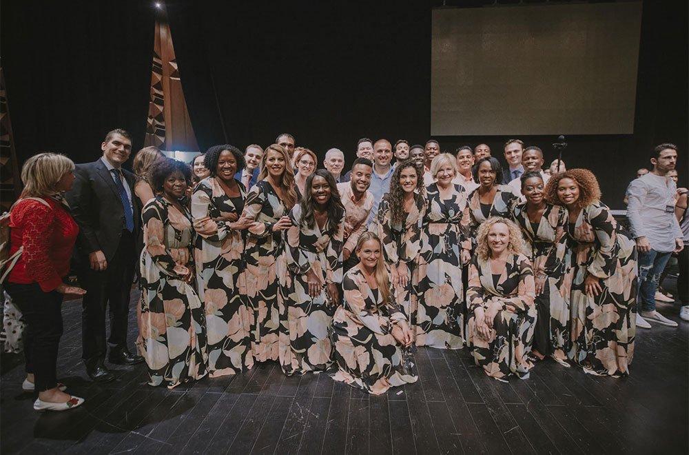 Imponente coro per il concerto BROOKLYN Tabernacles Singers a Napoli 6 Imponente coro per il concerto BROOKLYN Tabernacles Singers a Napoli