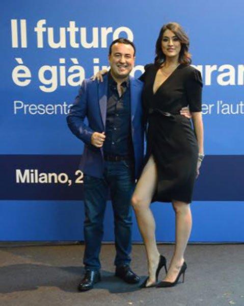 Cataldo Calabretta ed Elisa Isoardi