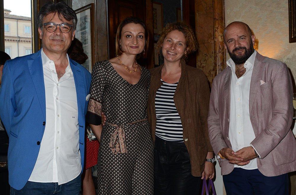 Le Giornate del Cinema Lucano - Donato Giovinazzo, Antonella Caramia, Barbara Francesconi e Nicola Timpone