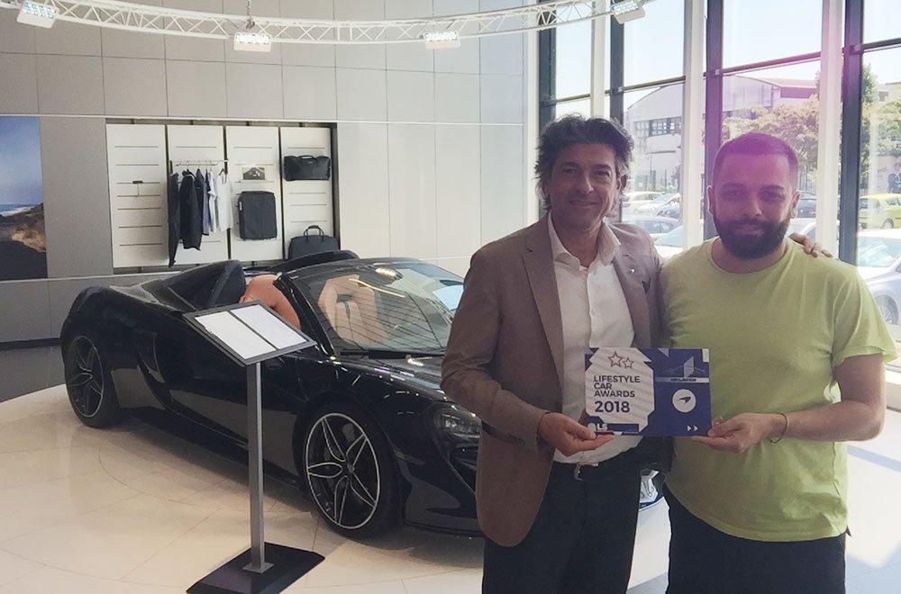 McLaren: consegnato il Lifestyle Car Award 2018 7 McLaren: consegnato il Lifestyle Car Award 2018