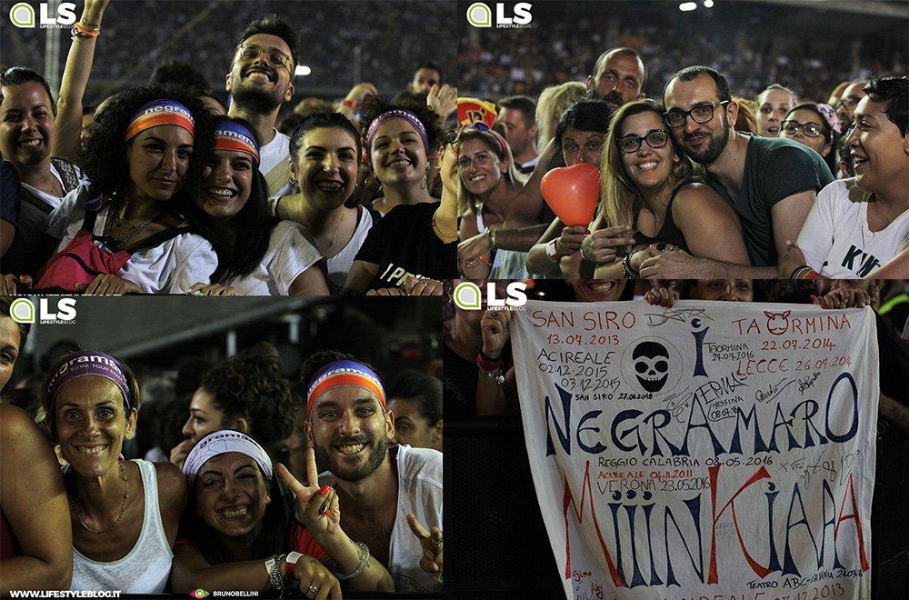 Negramaro tour, le foto del pubblico di Lecce 6 Negramaro tour, le foto del pubblico di Lecce