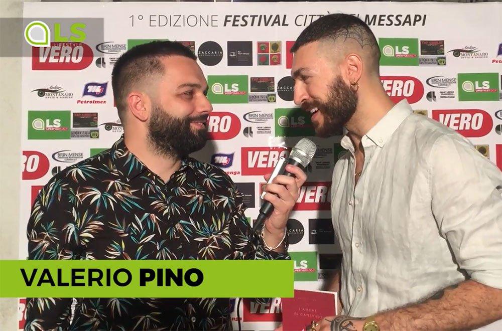 valerio pino - Valerio Pino premiato al Festival dei Messapi