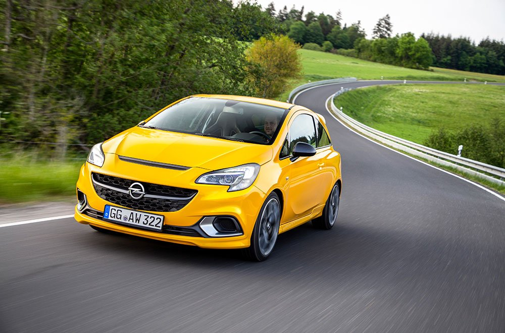 La nuova Opel Corsa GSi 34 La nuova Opel Corsa GSi