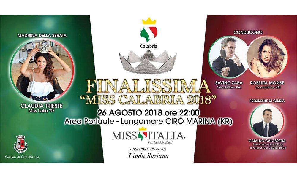 Miss Calabria 2018: la finale (26 agosto) 7 Miss Calabria 2018: la finale (26 agosto)